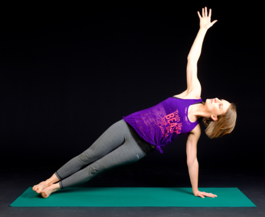 side plank two